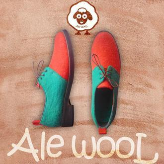 Обувь из натурального войлока