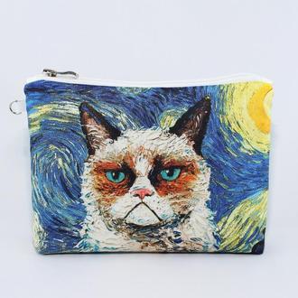 Косметичка «Кот Ван Гог»