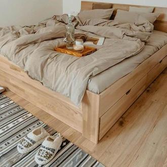 Комплект постельного белья из вареного хлопка  Leglo Almond