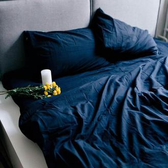 Комплект постельного белья из вареного хлопка Leglo Navy