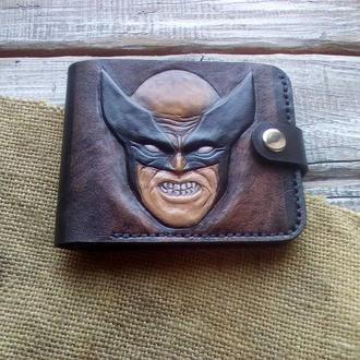 Шкіряний гаманець (Росомаха)
