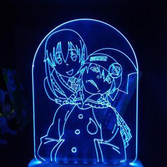 Soul Eater Светильник Ночник Ночник аниме