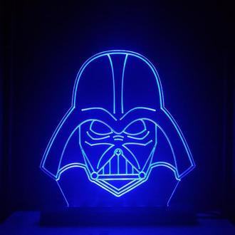 Darth Vader Star Wars Ночник Светильник Дарт Вейдер