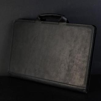 Чехол для MacBook Винтажная кожа цвет