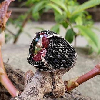 Мужское кольцо с Цирконием