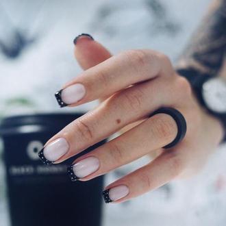 Лаконичное кольцо из древесины черного дуба 17,5 размер