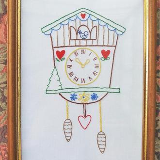 "Картина ""Годинник із зозулею"""