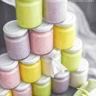 Сахарный скраб-суфле для тела Летнее ассорти
