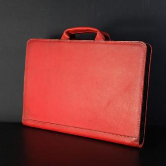 Чехол для MacBook кожа Итальянский краст цвет