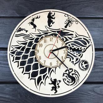 Классические настенные часы «Игра Престолов»