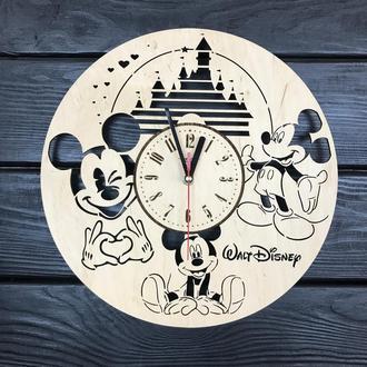 Handmade часы настенные «Уолт Дисней»