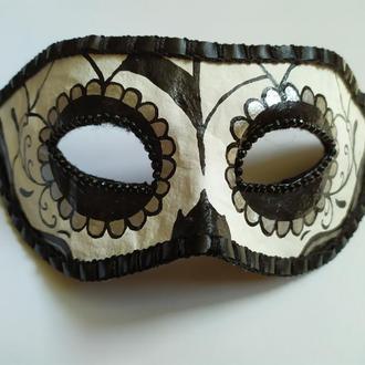 """Карнавальная маска  на «Santa Muerte» (""""Санта Муэрте"""") № 3"""