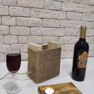 Ночник деревянный