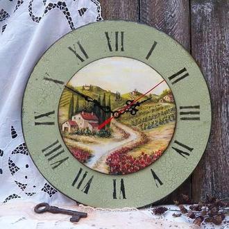 Часы в стиле прованс!