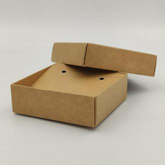 Картонная коробка для бижутерии и украшений