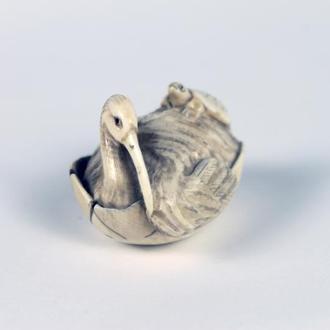 Нецке птах (початок ХХ ст.) нэцке птица нэцкэ