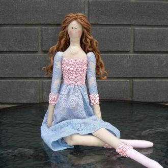 Кукла в стиле тильда Кэлли 48см