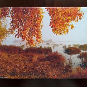 """Уникальная фотокартина напечатанная на холсте """"Осенний пейзаж"""""""