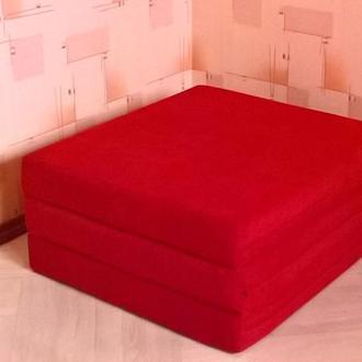 Модный и стильный дизайнерский пуф превращается в спальное место