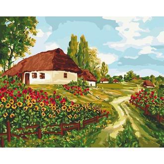 Картина по номерам Украинскими тропами Кно2277