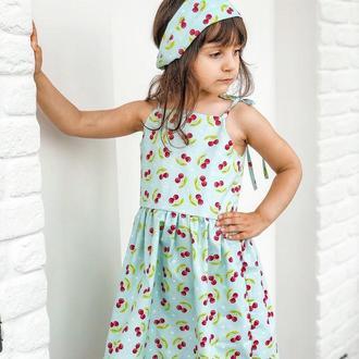 Сарафан на девочку 4-5 лет