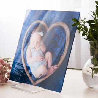 Детская фотокартина, печать фото на акриле