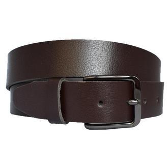 Partner коричневый кожаный мужской ремень под джинсы