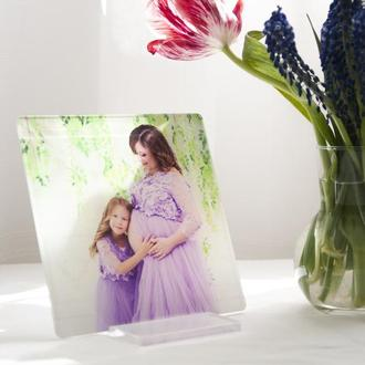 Семейная фоторамка, уф фотопечать на акриле