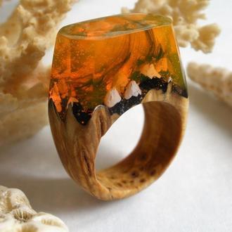"""Перстень """"Огненные земли"""""""