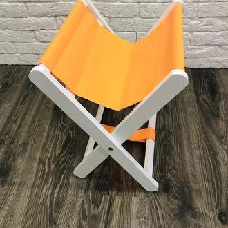 Подставка для сумки «Бело-желтая»