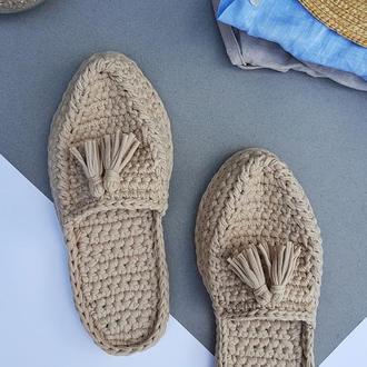 Мюли. Тапочки. Обувь для дома. Домашние тапочки