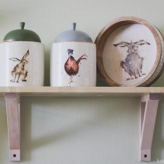 Короб для кухни Куропатка, заяц