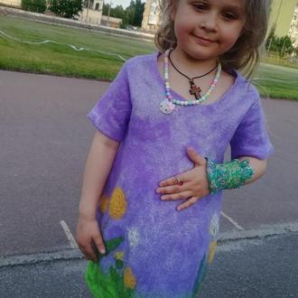 Платье для девочки Одуванчики