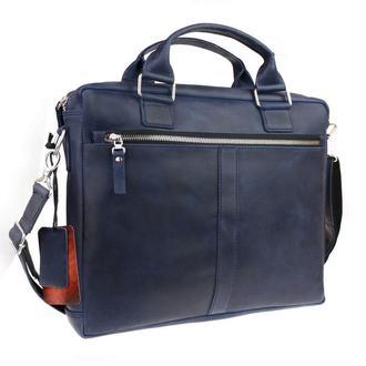 Кожаная сумка для документов А4 Business (5,6), 4 цвета
