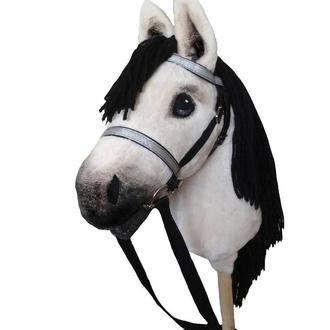 Лошадка на палке Конь на палочке Конь на палке Мягкая лошадка
