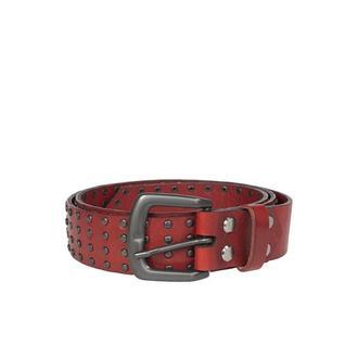 Червоний ремінь Franko Rock 35 rivets Red belt з хольнітенами