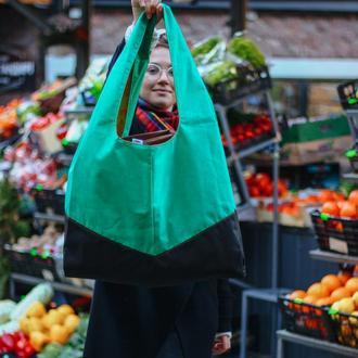 Хит продаж самый большой шоппер - сумка для покупок, шопер Киев Львов Morkwa