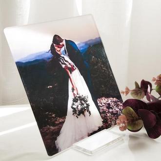 Свадебная фотокартина на акриле