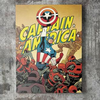 Картина на холсте Капитан Америка / Captain America (CA012)