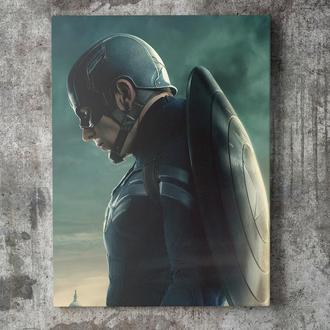 Картина на холсте Капитан Америка / Captain America (CA014)