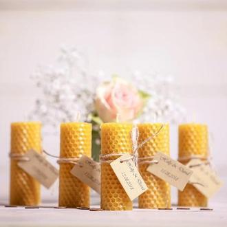 Свадебные свечи Подарки для гостей