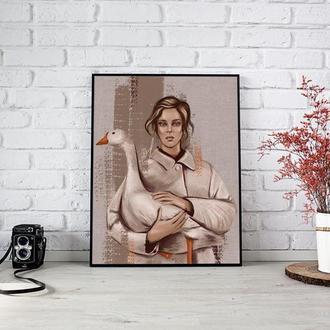 """Цифровой портрет в стиле """"Масло"""" по фотографии"""