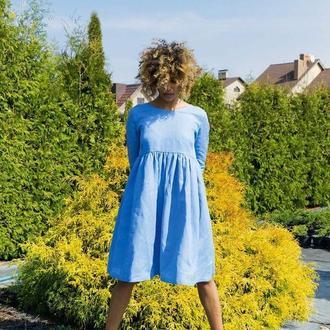 """Голубое платье """"Poppy"""""""