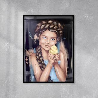 """Цифровой портрет по фотографии в стиле """"Масло"""""""