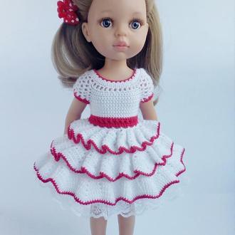 """Сукня """"Зефирка """"для Paola Reіna (Паола Рейна)зростання 32 см"""