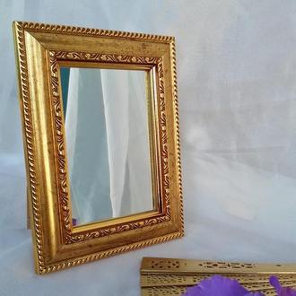Зеркало БОГЕМНОЕ в винтажном стиле настольное/настенное /ЛЮКС  качество
