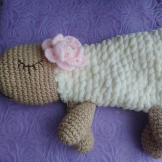 Мягкая игрушка овечка (Пижамница/Подушка)