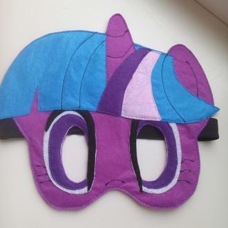 Маска Искорка (my little pony)