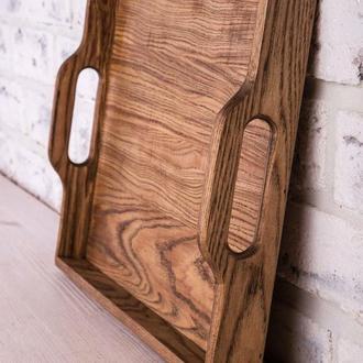 Поднос деревянный Sweet home