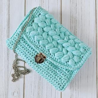 Женская сумка-клатч Зефирка